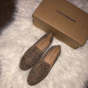 ✨NWT✨ Lucky Brand Cahill Leopard Slip on✨